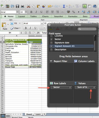 Excel pivot tutorial screenshot 5