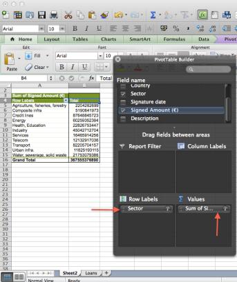 Excel pivot tutorial screenshot 5