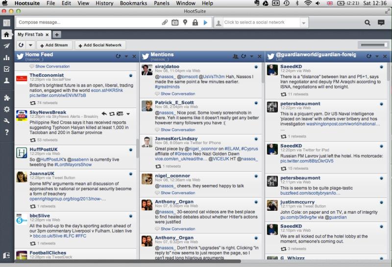 Hootsuite mac application
